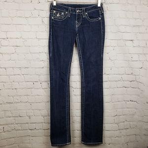 True Religion Flap Pocket Straight Leg 25